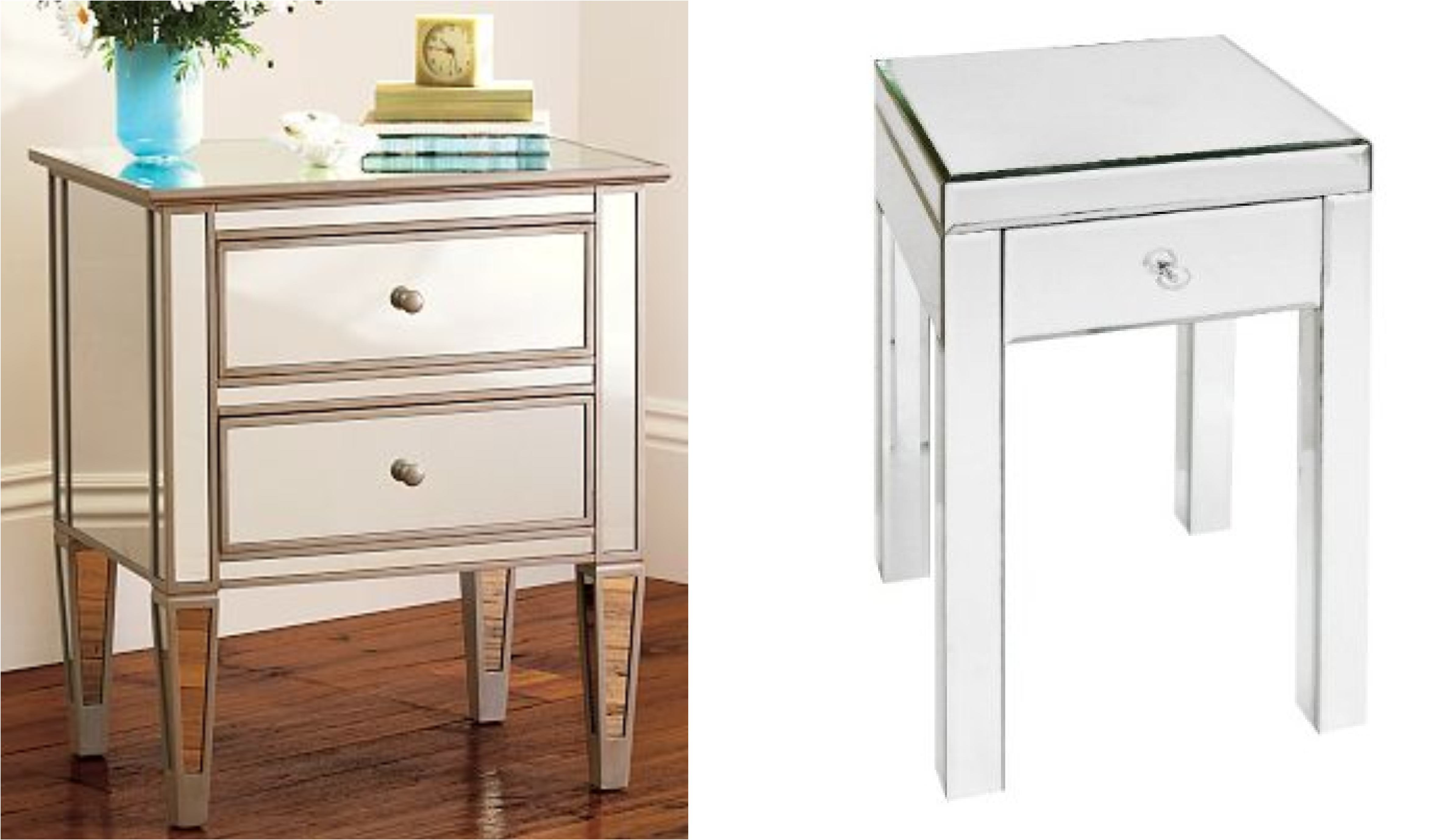 Image Result For Mirrored End Table Cheap