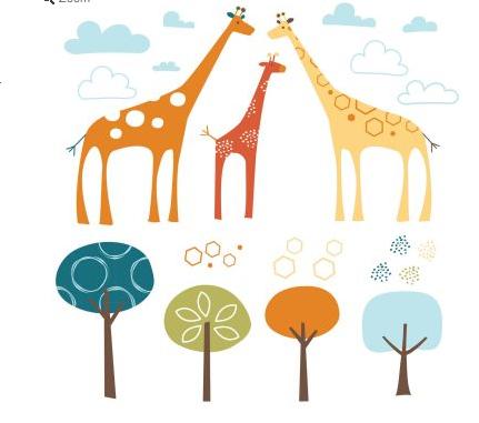 Skip*Hop giraffes